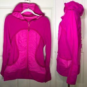 Lululemon Pure Balance Jacket Paris Pink Sz 12